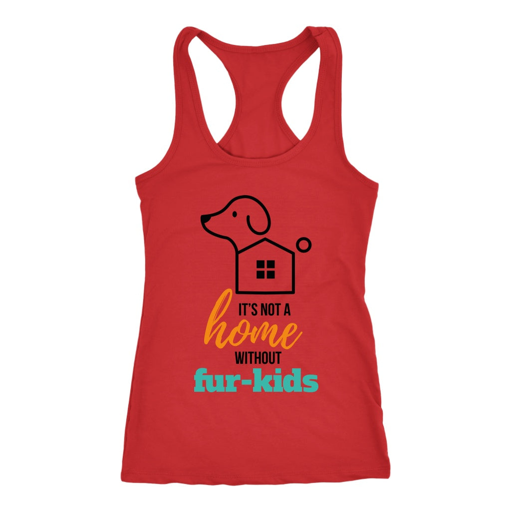 T-shirt - Not A Home Without Fur Kids