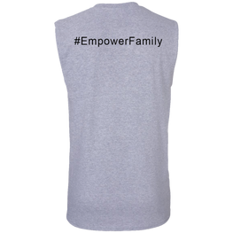 #empowerfamily Gildan Men's Ultra Cotton Sleeveless T-Shirt