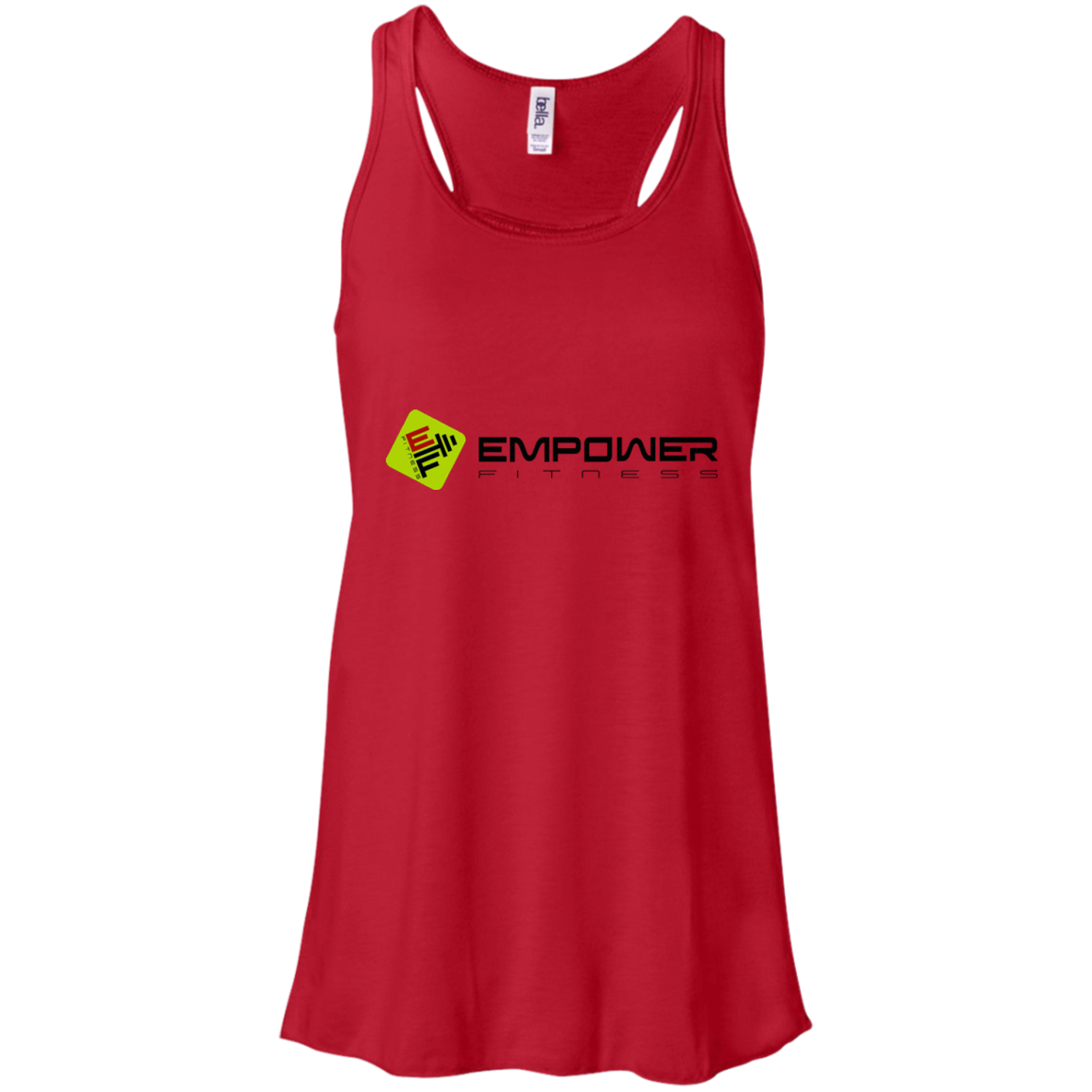 #empowerfamily Bella + Canvas Flowy Racerback Tank