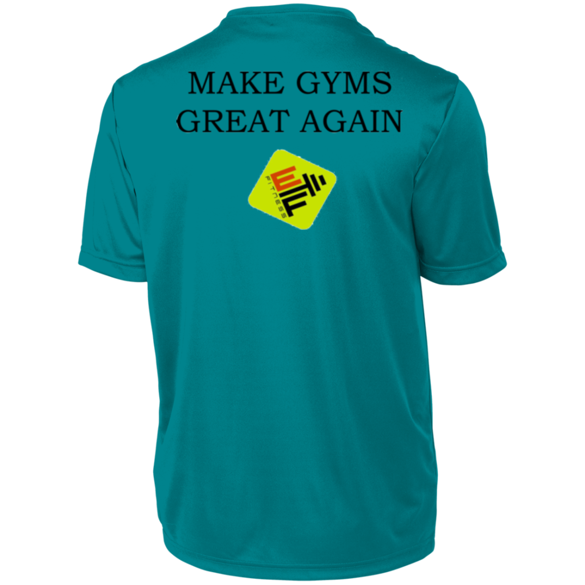 Make Gyms Great Again  Augusta Men's Wicking T-Shirt