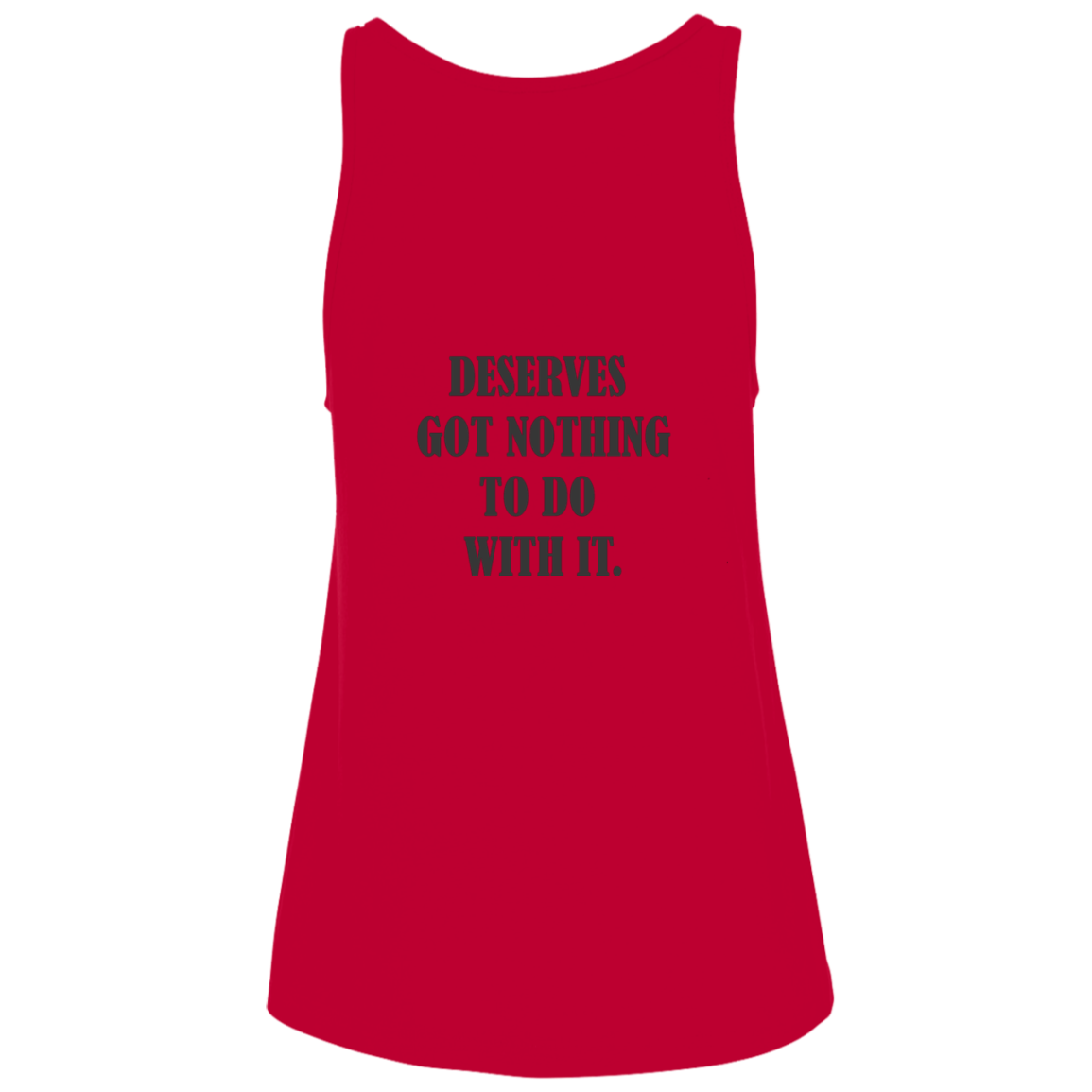 Deserve  Bella + Canvas Ladies' Relaxed Jersey Tank