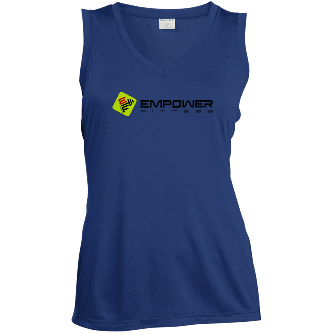 #empowerfamily Sport-Tek Ladies' Sleeveless Moisture Absorbing V-Neck