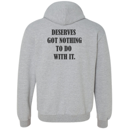Deserve Gildan Heavyweight Pullover Fleece Sweatshirt