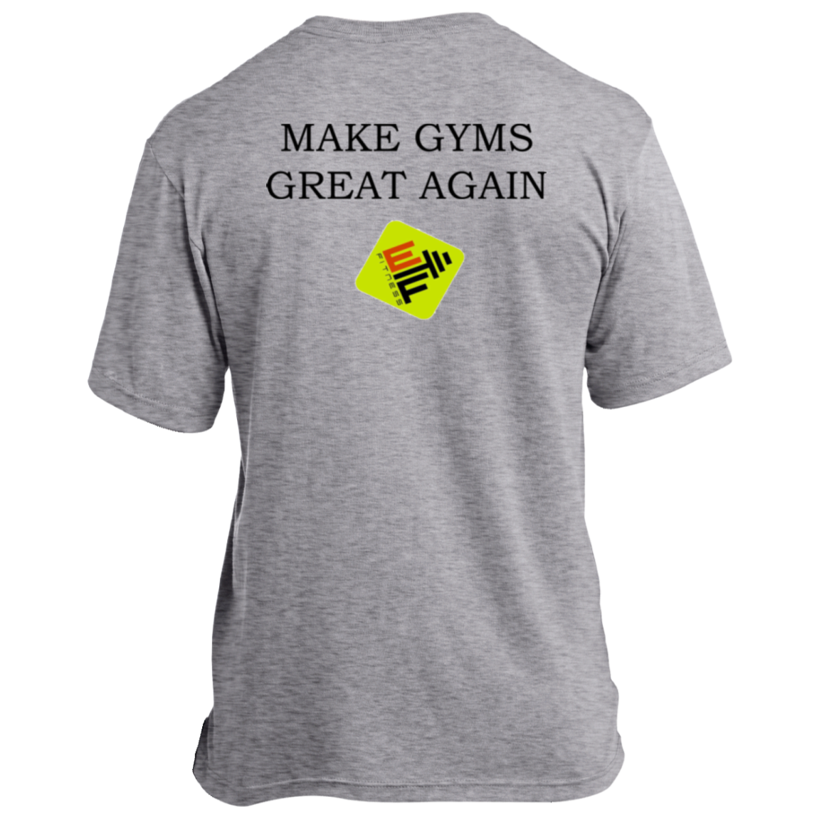 Make Gyms Great Again  Port & Co. Made in the USA Unisex T-Shirt