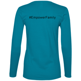 #empowerfamily Anvil Ladies' Lightweight LS T-Shirt