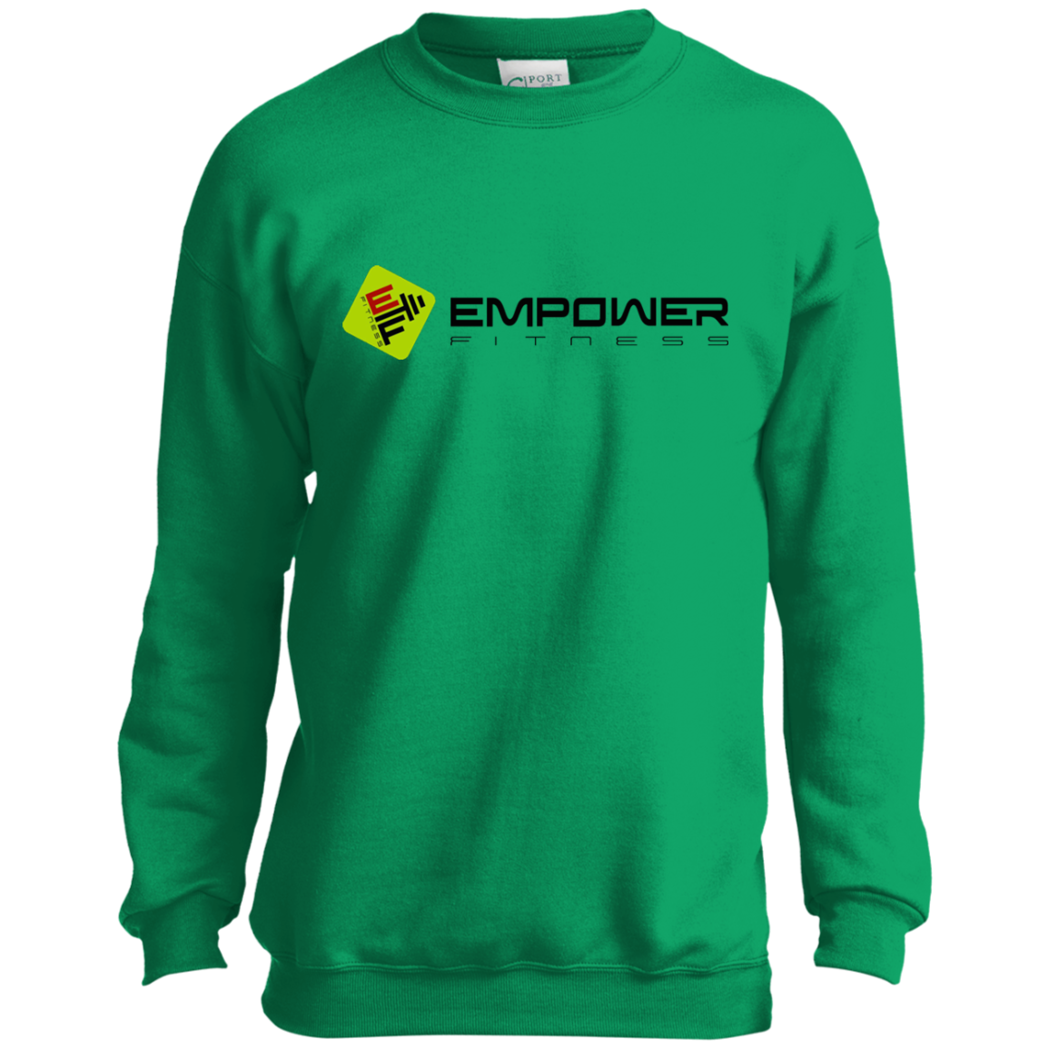 #empowerfamily Port and Co. Youth Crewneck Sweatshirt