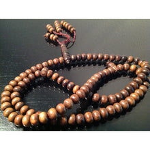 Load image into Gallery viewer, Healing wood prayer beads - Kehtam Mesbah - sufi magic - taweez - talisman - amulet - white magic
