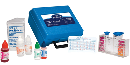 Spa hot tub water test kit