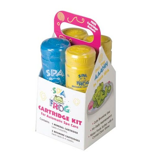 SPA Frog Replacement Cartridge Kit - 3 Yellow / 1 Blue
