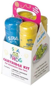SPA Frog Serene Replacement Hot Tub Bromine & Mineral Cartridge 6 Piece Bundle
