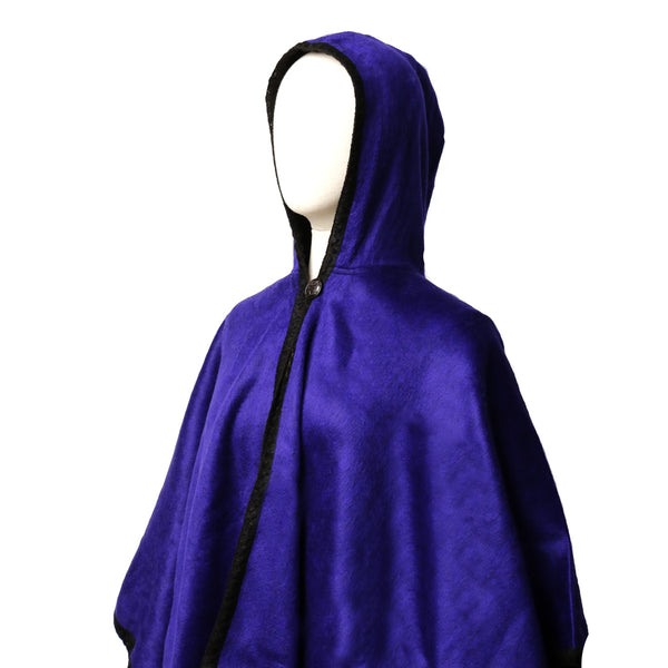 Alpaca Hooded Poncho
