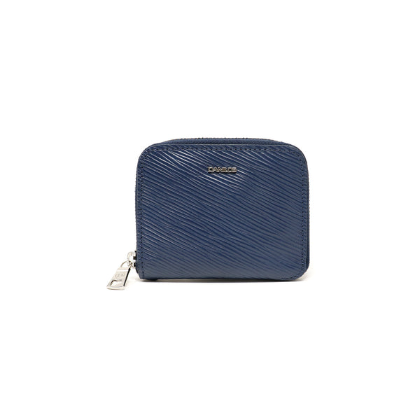 Zip-around Zurich Wallet - Epi blue