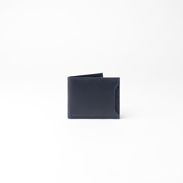 Milano Wallet - Dark Blue Napa