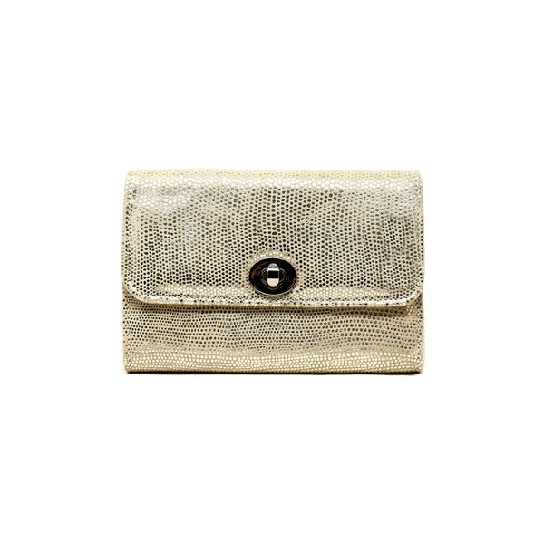 Sherlyn Wallet  - Exotic Gold