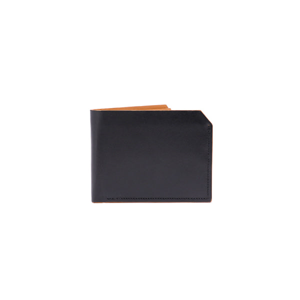 Black Tan Double Billfold Hans