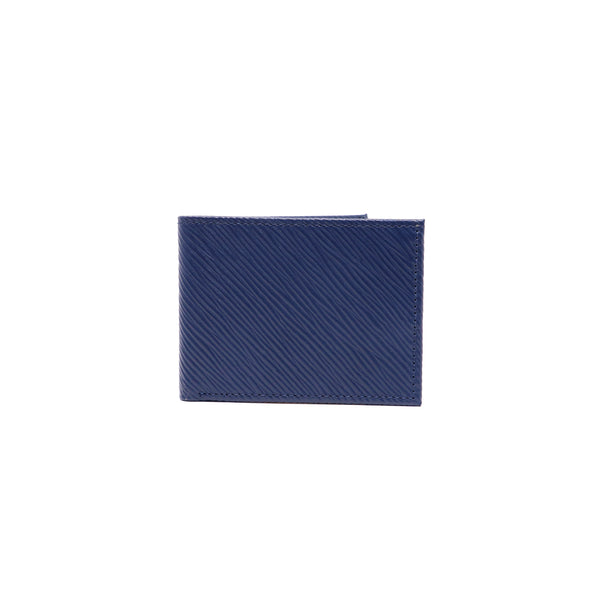 Double Billfold Patrick - Blue