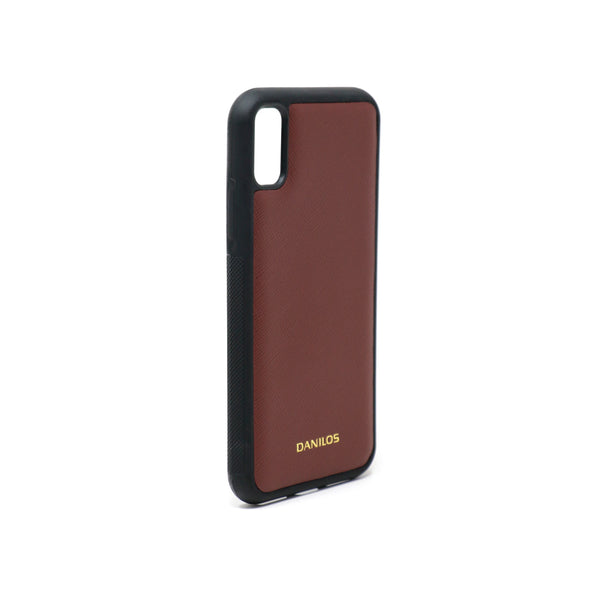 Iphone X Leather Case - Brown