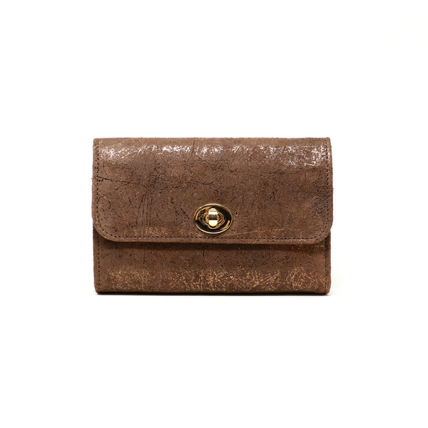 Sherlyn Wallet  - Exotic Brown