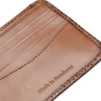 Fosil Wallet - Brown Exotic & Brown Napa