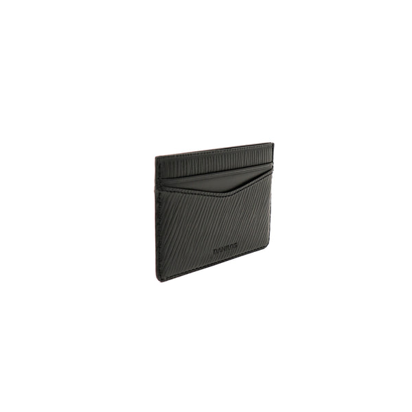 Patrick Card Holder - Epi Black With Napa Black