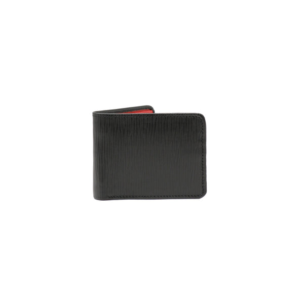 Fosil Wallet - Black Epi & Red Napa