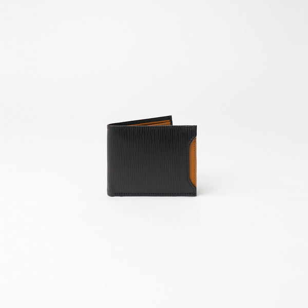 Milano Wallet - Black Epi with Napa Tan