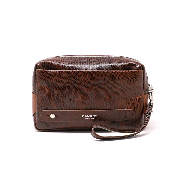 Multifunctional Men Pouch - Exotic Brown