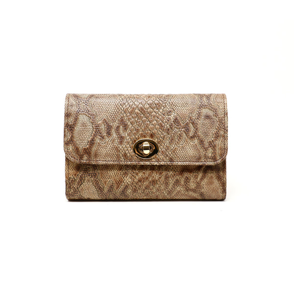 Sherlyn Wallet  - Exotic Tan