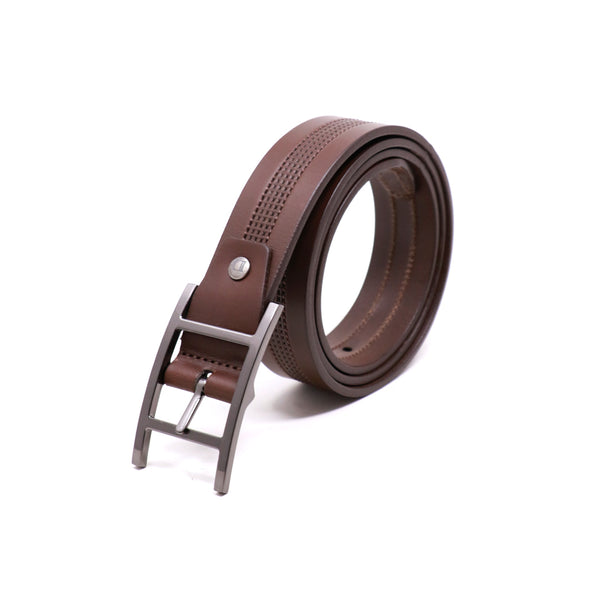 Harness Buckle Belt - Brown