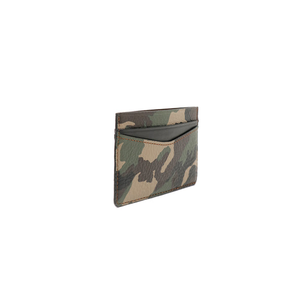Patrick Card Holder - Camo With Black