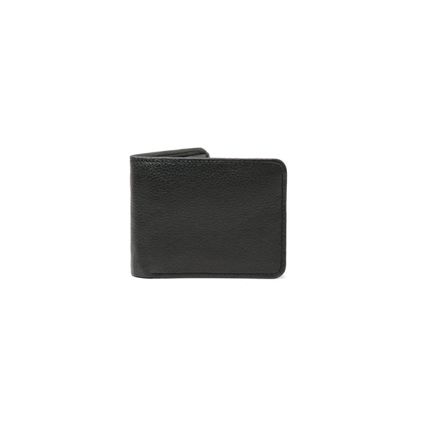 Fosil Wallet - Black Corrugated