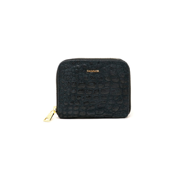 Zip-around Zurich Wallet - Exotic Black
