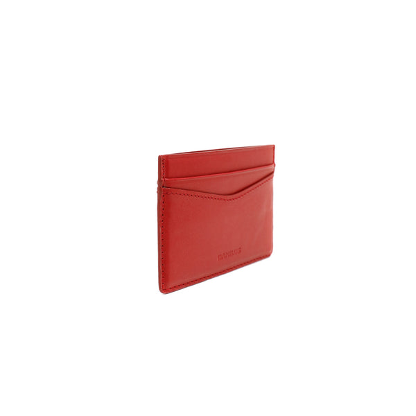 Patrick Card Holder - Napa Red