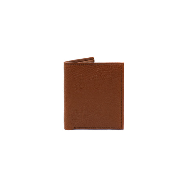 Slim Andre Billfold LUX - Tan Corrugated