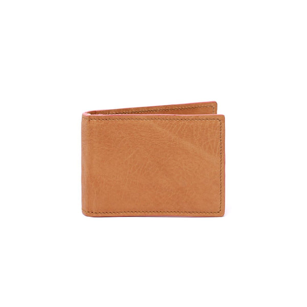 Tan Vintage w/ Pink Steven Money Clip