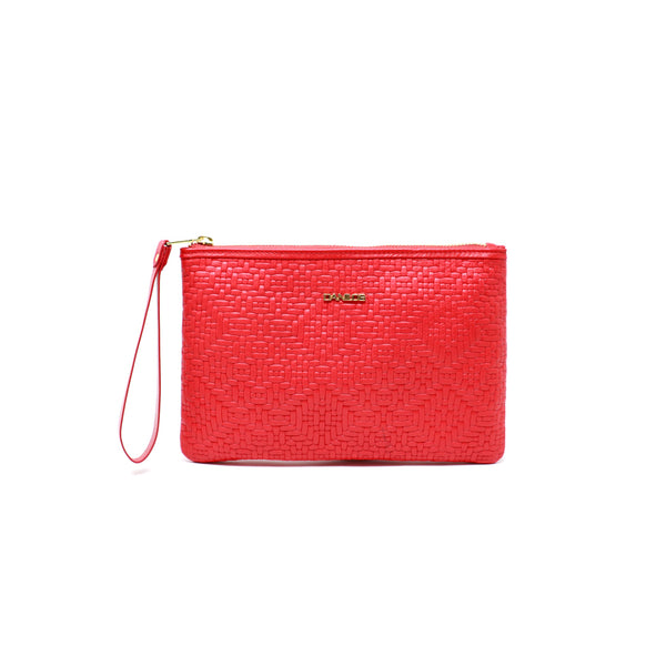 Danilos Pouch M - Woven Red