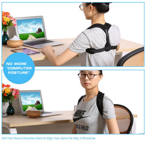 Sawyer Adjustable Posture Corrector Belt - BonjourFit