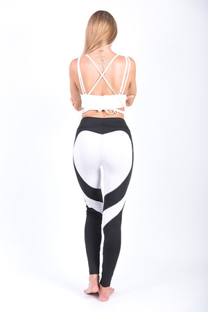 Lisa Heart Shape Leggings - BonjourFit