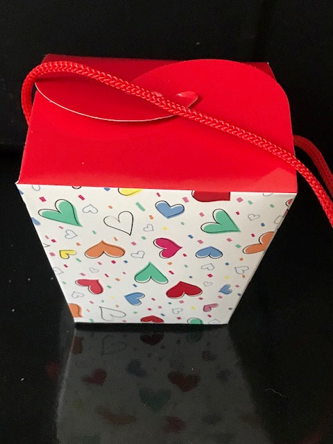 Valentine's Day Gift Set Small Takeout Box