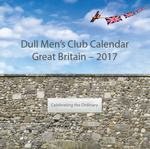 Load image into Gallery viewer, 2017 Dull Mens' Club Calendar