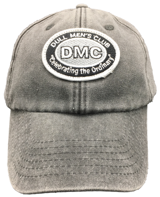 Dull Men's Club Embroidered Logo Cap Grey