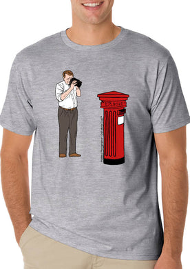Dull Men's Club T-Shirt 'Postbox Photography'