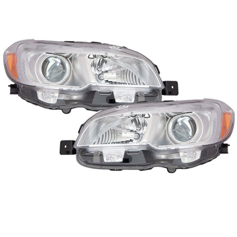 2015-2018 Subaru WRX headlights