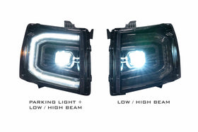 2007-2013 Chevy Silverado XB led headlights