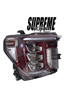 2020 GMC Sierra headlight build