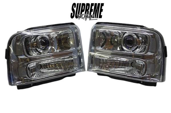 1999-2007 Super Duty Headlight Build