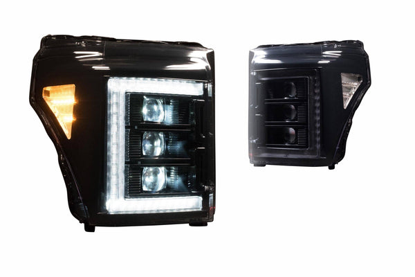 2011-2016 FORD SUPER DUTY XB LED HEADLIGHTS