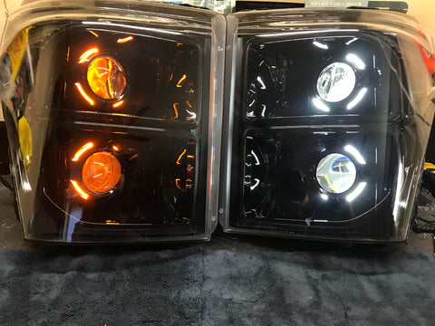 2011-2016 Super Duty Headlight Build
