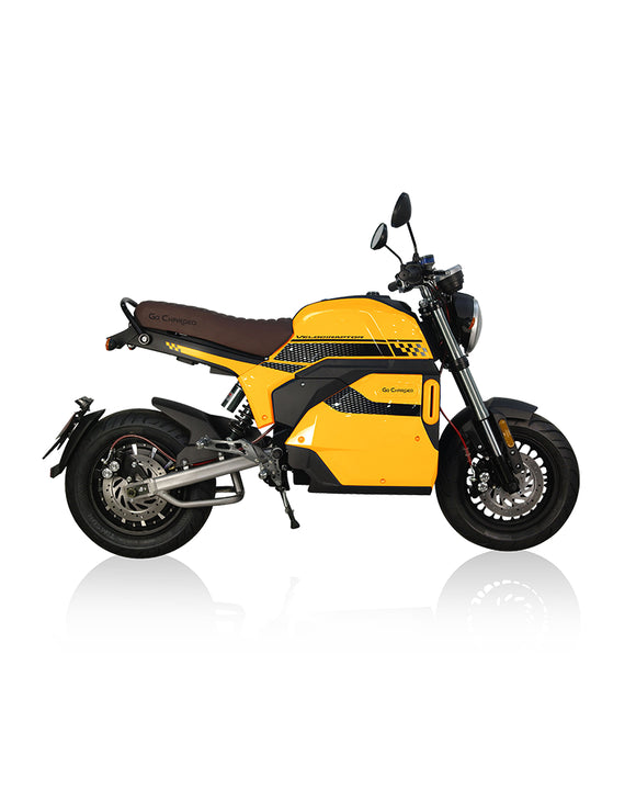 Go Charged Velociraptor Electric Moped