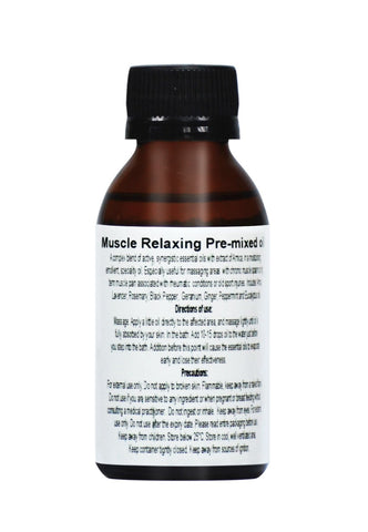 Muscle Relaxant Massage Oil